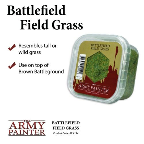 The Army Painter Battlefield Field grass BF4114