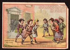 1880's WEST RANDOLPH VERMONT*R G MORTON*DIAMOND DYES*VICTORIAN TRADE CARD*GIES