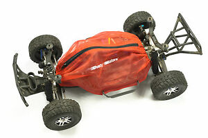 Shroud-Cover-for-Traxxas-Slash-4x4-by-Dusty-Motors-RED-COLOR