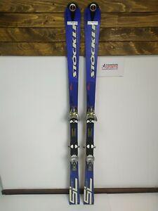 Stockli-Laser-SL-165-cm-Ski-Salomon-S9-Bindings-Winter-Sport-Fun-Snow