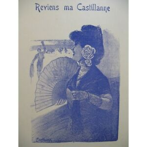 PERRIN-Cl-y-DEVAUX-B-Reviens-ma-Castellano-Piano-partitura-sheet-music-score