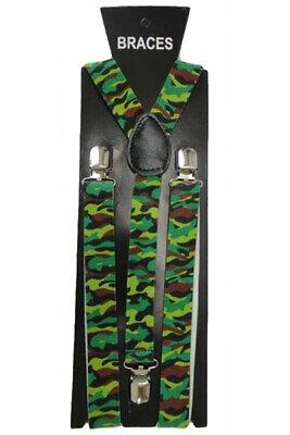 Obbiettivo Men's Army Seal Commando Soldato Gi Joe Costume Bretelle Addio Al Celibato Tema Divertente-mostra Il Titolo Originale