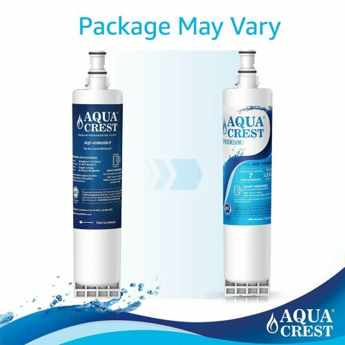 3 Pack Aquacrest Water Filter Replacement for Whirlpool GS6SHEXML00 Refrigerator
