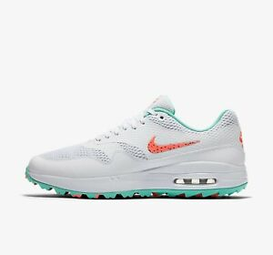 Nike Air Max 1 G New Hot Punch Golf Shoes Multiple Sizes Available Brand New Ebay