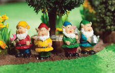 1/12 Scale Dolls House Emporium Garden gnomes Set of 4/Fairy garden 4794