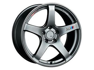 SSR GTV01 17x7.0 5x114.3 42mm Offset Phantom Silver Wheel