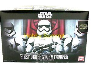 Bandai STAR WARS 1/12  FIRST ORDER STORMTROOPER  re The Force Awakens Model Kit