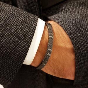 Luxury-Wristband-Braided-Macrame-Charm-Bracelet-Men-Hematite-Beads-Adjustable