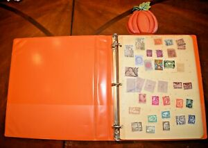 CatalinaStamps-World-Wide-Collection-in-Stock-Pages-Album-400-Stamps-Lot-D111