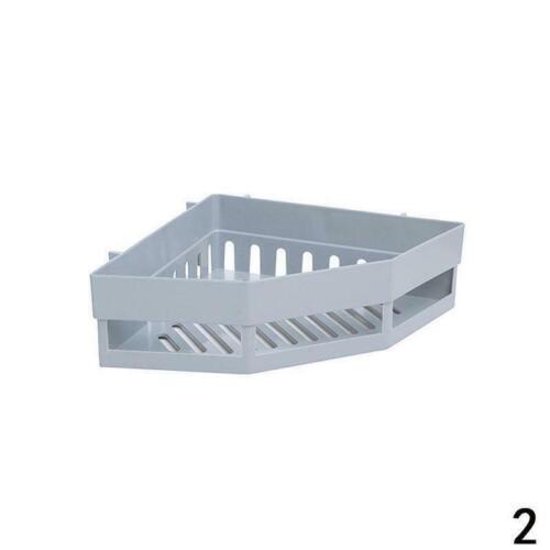 Corner Shelf Bathroom Snap Up Bath Wall Corner Mount Holder Walls Storage R H3F1