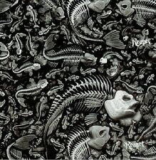 Hydrographic Film Water Transfer Printing Film Hydro Dip Fish Bones 1m