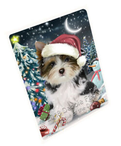 Have-a-Holly-Jolly-Biewer-Terrier-Dog-Christmas-Cutting-Board-C59145