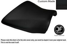 DESIGN 2 BLACK VINYL CUSTOM FITS KAWASAKI Z750 Z1000 04-06 FRONT SEAT COVER ONLY