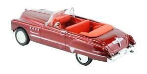 Newray-Diecast-Buick-Roadmaster-Dynaflow-Cabrio-1949-Rojo-All-American-City