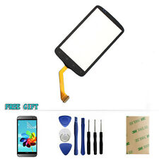 Black Touch Screen Digitizer Glass Panel Replacement For HTC Desire S S510e G12