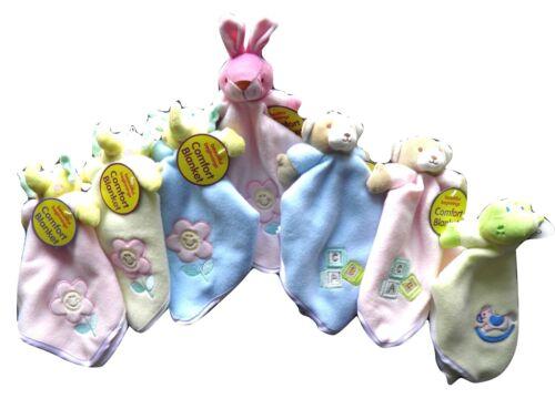Cute Baby Comfort Comforter Blanket Elephant Teddy Frog Rabbit  Choice of Colour