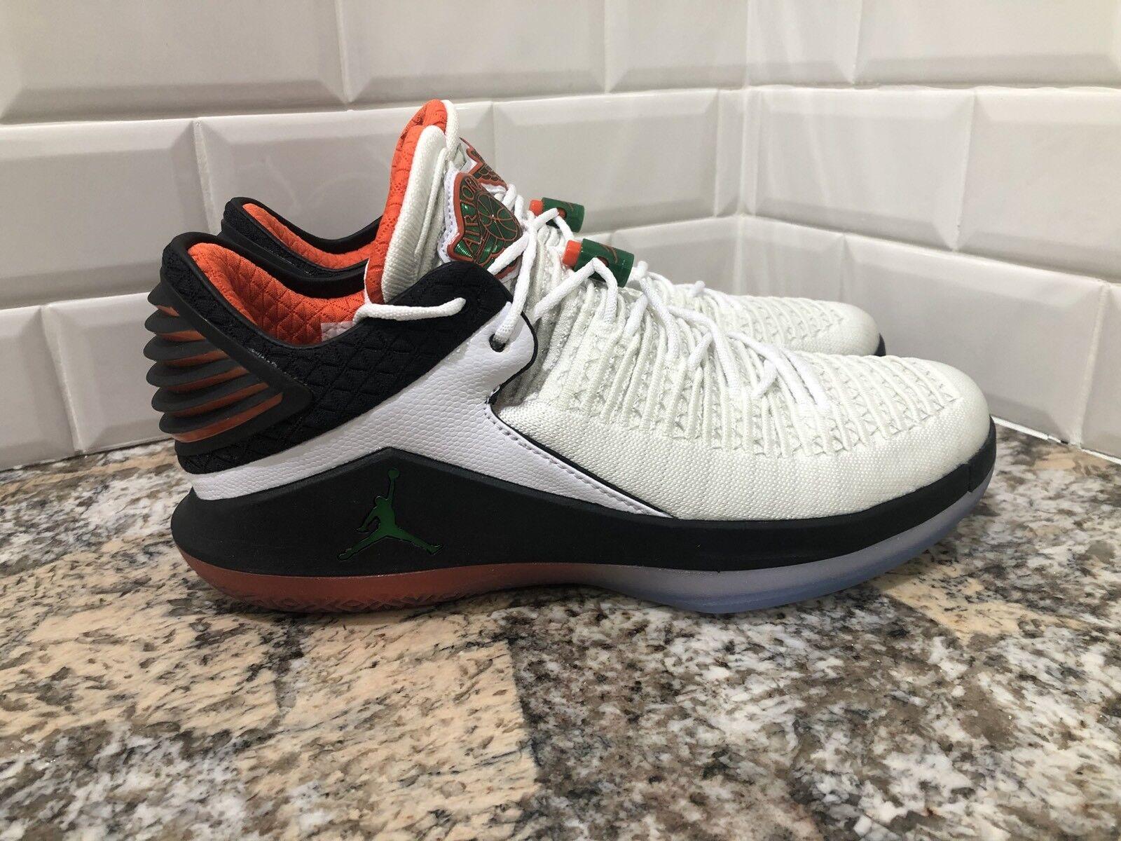 Nike air jordan xxxii basso come mike gatorade bianchi '12 aa1256-100 sz