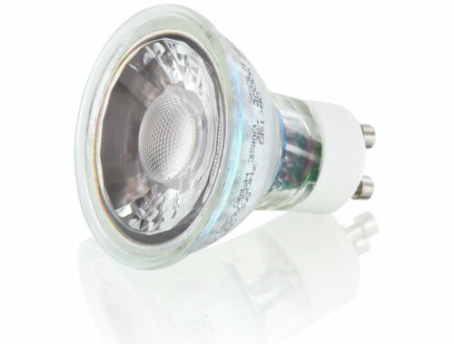 LED COB Leuchtmittel Spot GU10  230V warmweiß neutralweiß 3000K 4000K Strahler