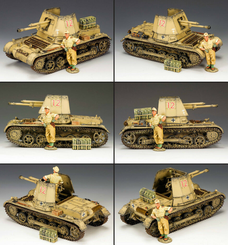 KING AND COUNTRY Afrika Korps Panzerjager 1 AK84 AK084