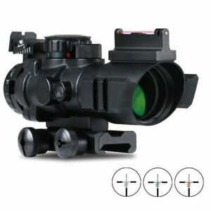 VERY100-4x32mm-Riflescope-Red-Dot-Sight-Scope-With-Red-Green-Dot-Sighting-Target