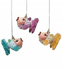 Katherine/'s Collection Set of Three Gnome 8 inch Ornaments 28-530453