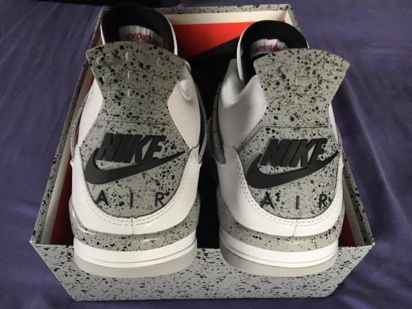 2016 AIR JORDAN 4 WHITE CEMENT OG 89 LIMITED RELEASE BRAND NEW IN  BOX SZ 11