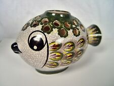 Gmundner Keramik, Fayence, Majolika Fisch, Österreich