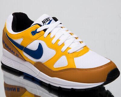 Nike Air Span II Men's New Yellow Ochre Shoes Lifestyle Sneakers AH8047 700 | eBay