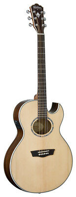 Considerate Washburn Ea20snb Nuno Signature Series Acoustic Electric Guitar Musical Instruments & Gear Natural