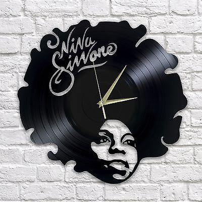 NINA SIMONE vinyl wall clock