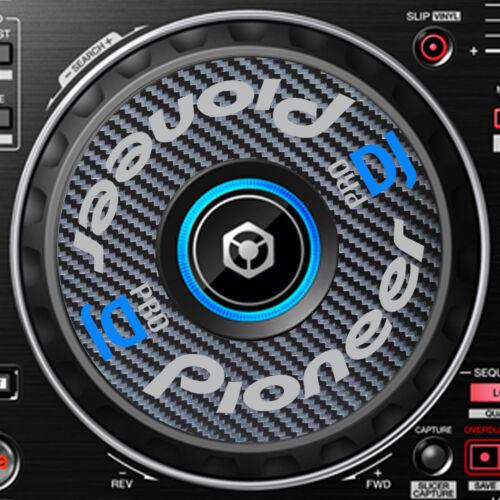 SLIPMAT GRAPHICS STICKERS CDJ PIONEER PRO DJ CARBON FIBRE DDJ-RR  DDJ RR JOG