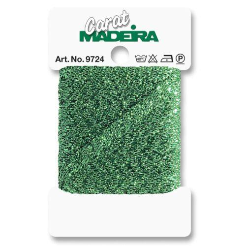 Madeira Carat 4mm Metallic Embroidery Quilting Braid x 5 metres 9724//458