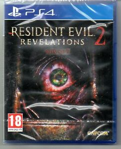 RESIDENT-EVIL-REVELATIONS-2-BOX-SET-039-New-amp-Sealed-039-PS4-Four