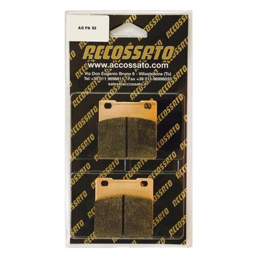 PASTIGLIE FRENO POST ACCOSSATO SUZUKI/>GSX-R 600 1997-2003