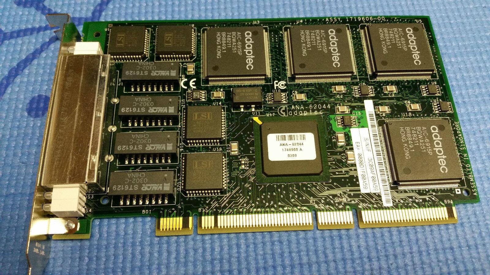 Adaptec ANA-62044 Ethernet PCI 4 Port Ethernet Adapt