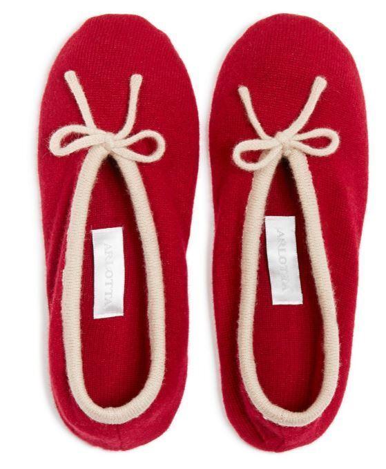 New! $125 (6/7) ARLOTTA Cashmere Ballet Slipper, Size XS/S (6/7) $125 0be8e8