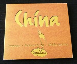 Digipack-CD-Eric-Aron-China-Voyage-Meditation-Relaxation-Canada-Records-Album