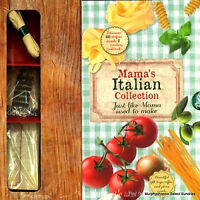 Mama's Italian Collection Gift Set Over 60 Recipes Inside 2 Cookbooks + More