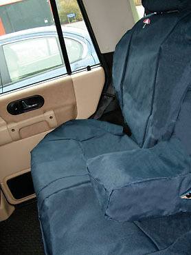 Land Rover Discovery 2 Waterproof Rear Seat Covers  DA2801GREEN