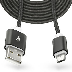 3m micro usb auf usb kabel laden ladekabel f r samsung galaxy s7 s6 edge plus ebay. Black Bedroom Furniture Sets. Home Design Ideas
