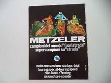 advertising Pubblicità 1978 PNEUMATICI METZELER CROSS