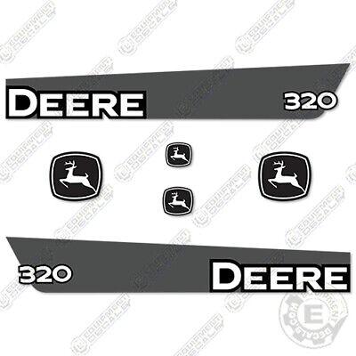 Details about  /Deere Skid 319D 320D 323D 329D 333D Decals Stickers Kit D FREE SHIPPING