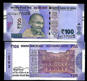 Rs-100-INDIA-Banknote-NEW-PATTERN-Replacement-Star-2018-Latest-Issue-034-0CC-034-034-L-034