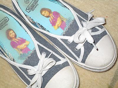 Disney Ballerina Slipper Turnschuh Mädchenschuh Sneaker Loafer blau-weiß Gr 35
