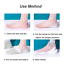 thumbnail 4 - Concealed Footbed Enhancers Invisible Height Increase Silicone Insoles Pads USA