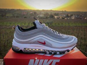 Scarpe-Nike-Air-Max-97-Silver-Red-40-41-42-43-44-45-SUPER-SALDI-40