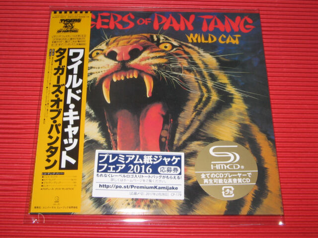 TYGERS OF PAN TANG Wild Cat  JAPAN MINI LP SHM CD
