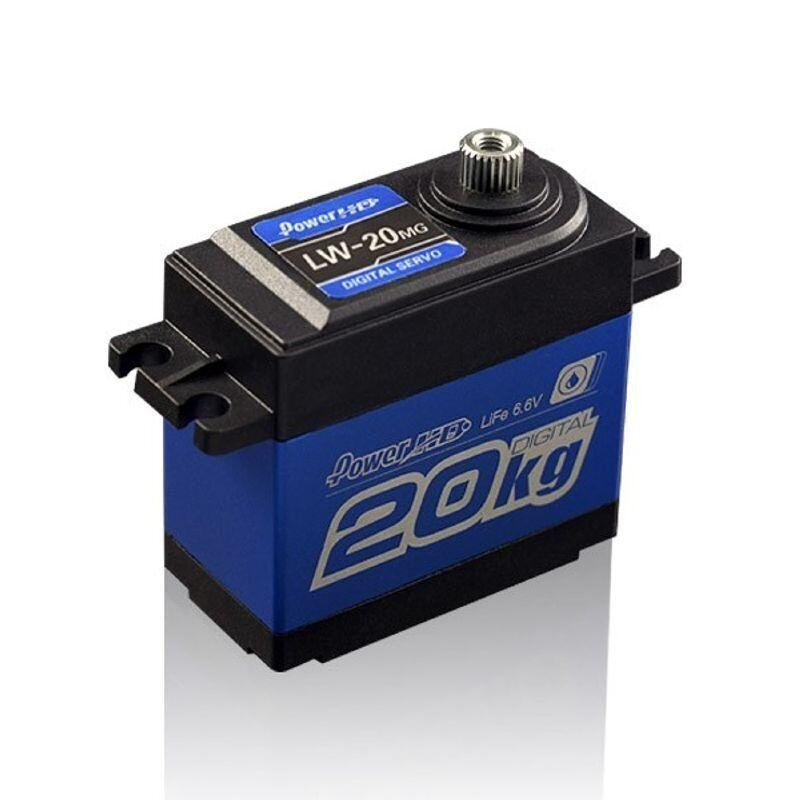 Kyosho Servo HD LF-20MG Digital wasserdicht ALU-CASE 20.0KG 0.16SEC  HD-LW-20MG