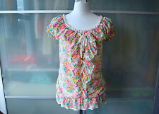 Liz Lisa pink floral off shoulder top ~ worn once! ~ Lolita ~ Japan ~ Japanese