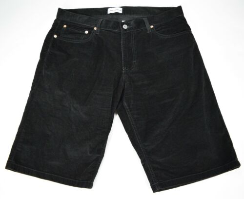 Lucky Brand  Black Suede Corduroy Shorts Women's S